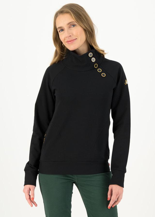 Sweater Oh So Nett Schwarz von blutsgeschwister