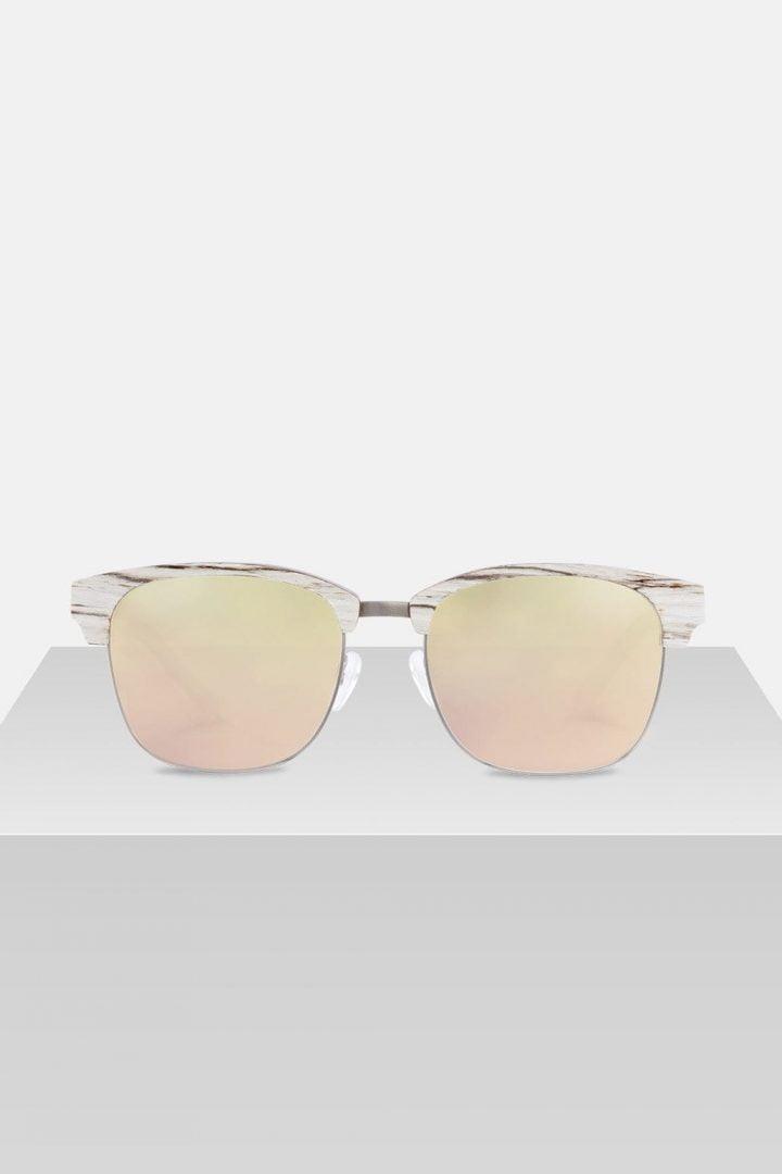 Sonnenbrille Albert - White Birch von Kerbholz