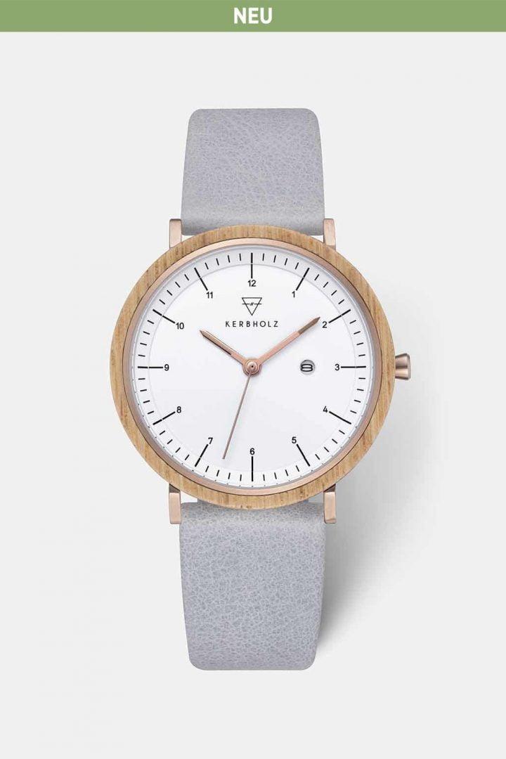 Uhr Amelie - Oak Arctic von Kerbholz