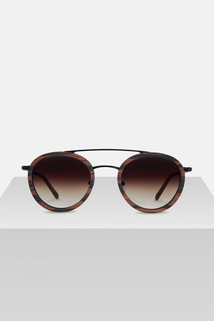 Sonnenbrille Berthold - Ebony von Kerbholz