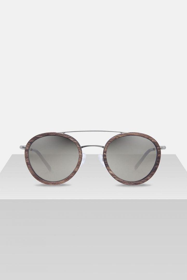Sonnenbrille Berthold - Walnut von Kerbholz