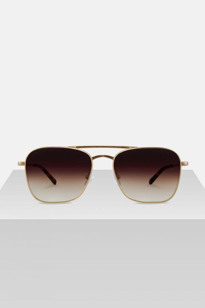 Sonnenbrille Bruno - Walnut Brown von Kerbholz