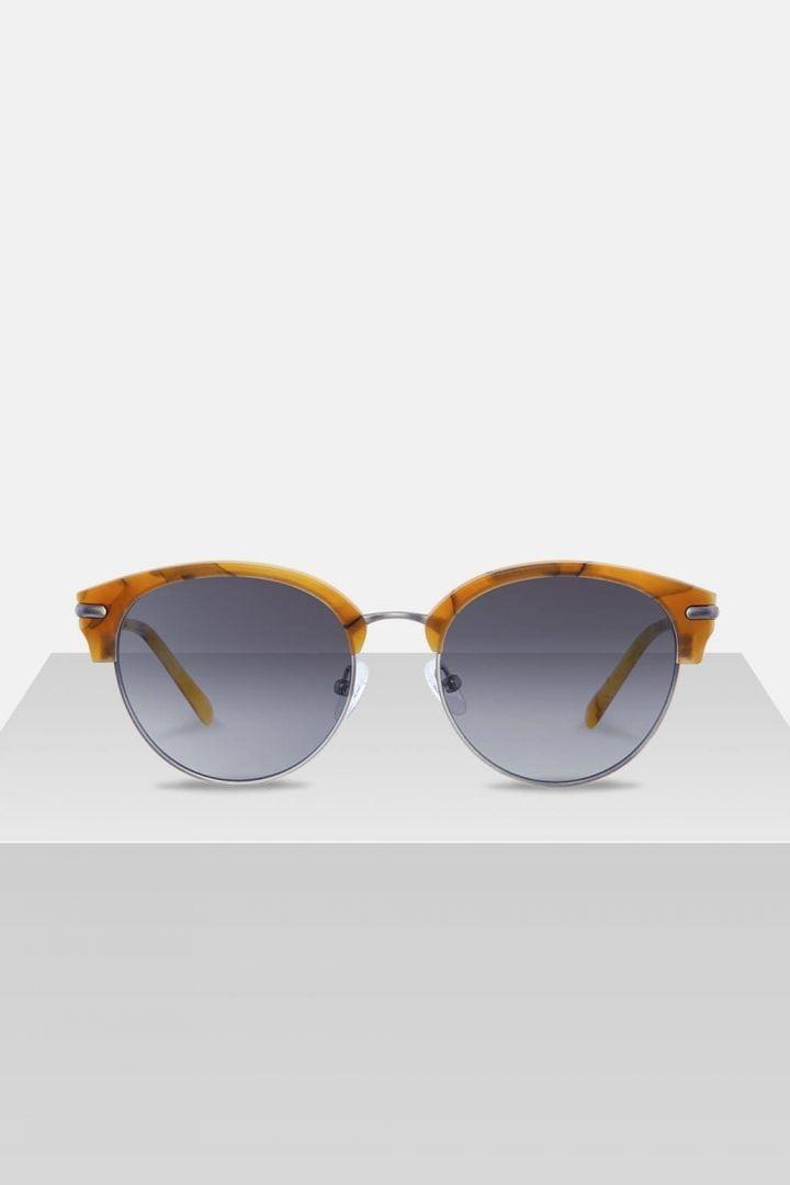 Sonnenbrille Carl - Amber Orange von Kerbholz