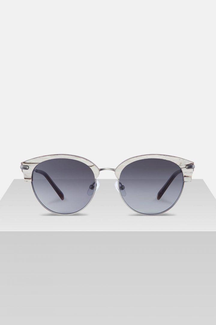 Sonnenbrille Carl - White Birch von Kerbholz