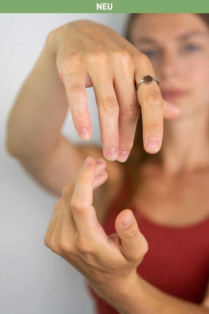 Schmuck Circle Ring - Silver von Kerbholz