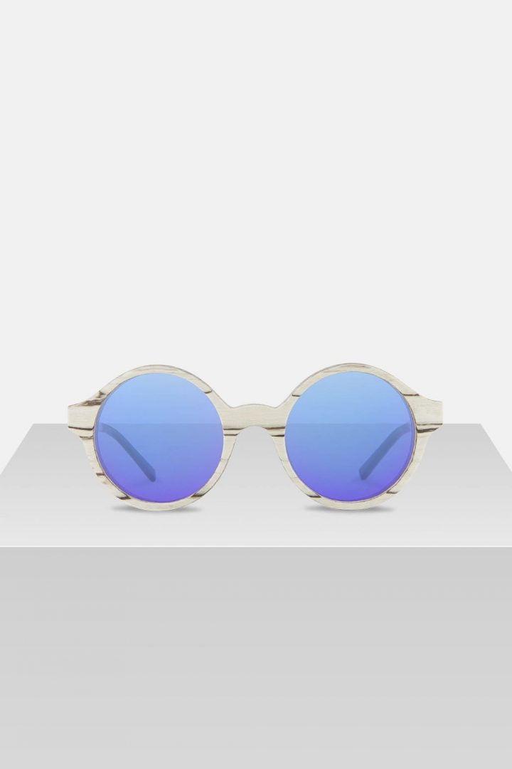 Sonnenbrille Cornelius - White Birch von Kerbholz