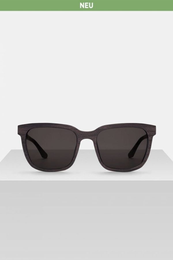 Sonnenbrille Hendrik - Blackwood von Kerbholz