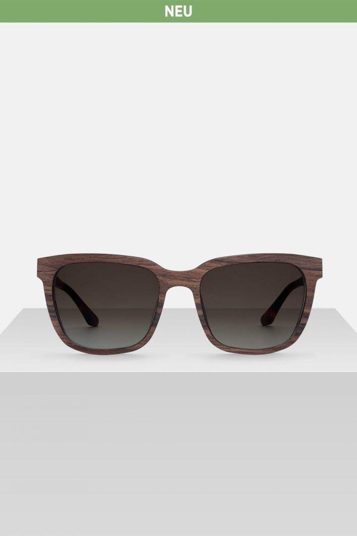 Sonnenbrille Hendrik - Walnut von Kerbholz