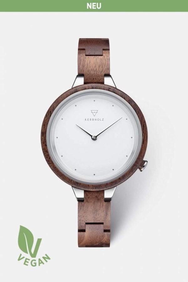 Uhr Hinze 2021 - Walnut von Kerbholz