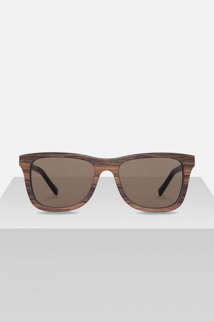 Sonnenbrille Justus - Zebrano von Kerbholz