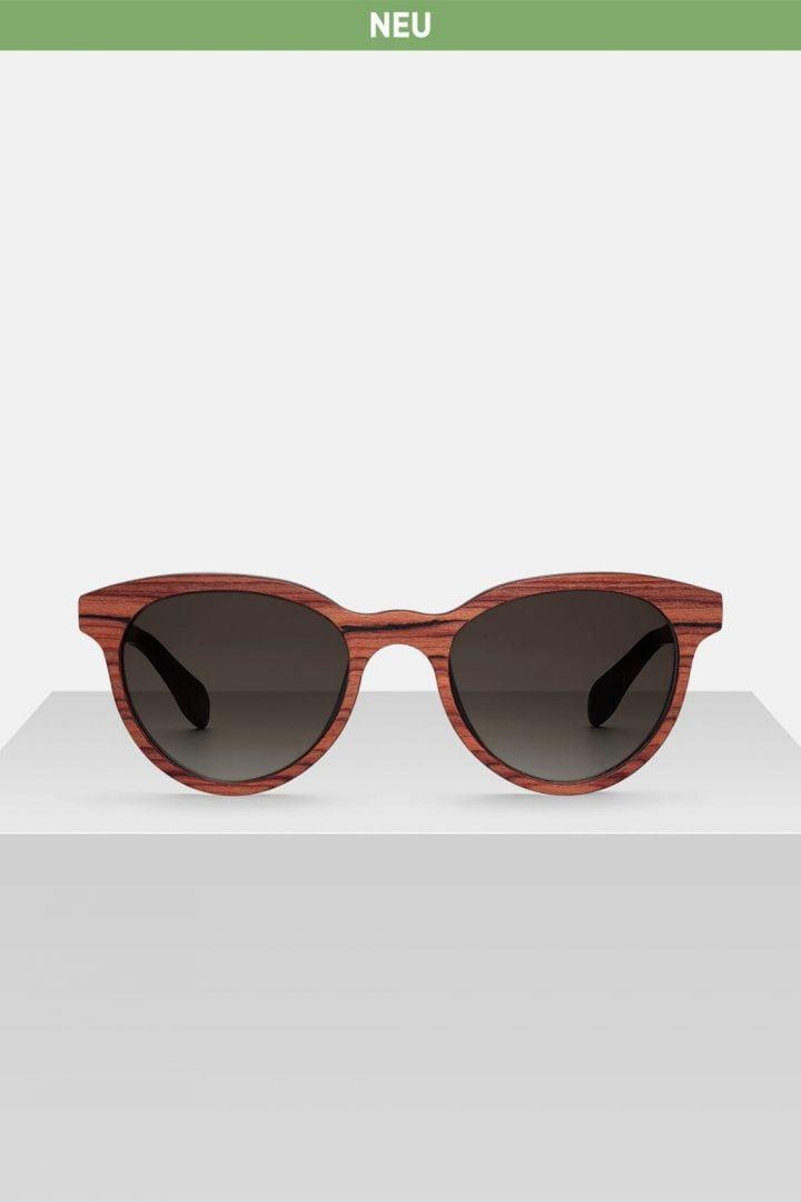 Sonnenbrille Lena - Rosewood von Kerbholz