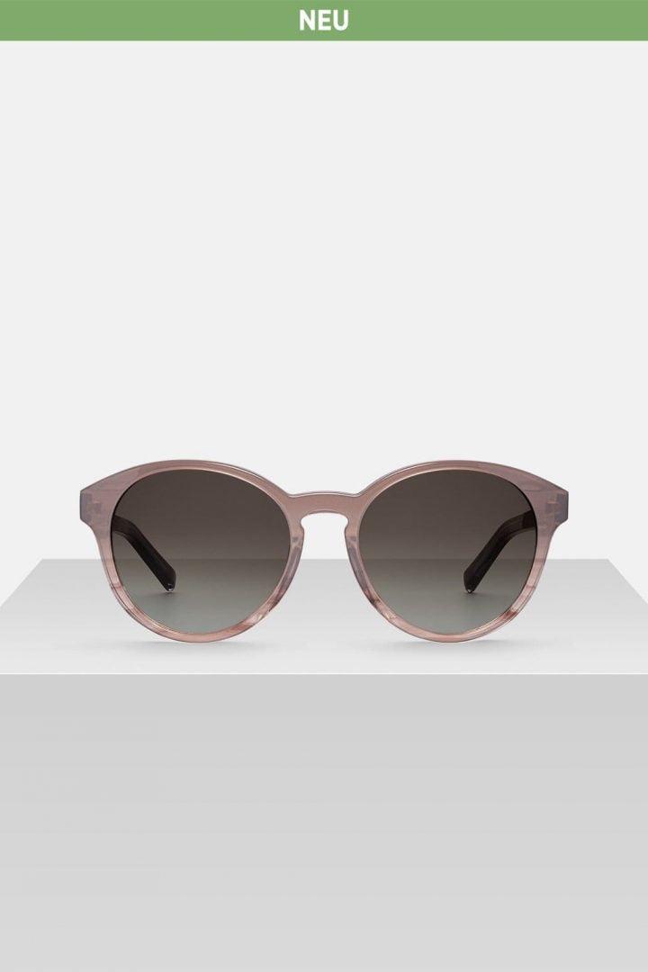 Sonnenbrille Leopold - Light Taupe von Kerbholz