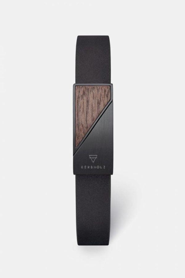 Schmuck Magnetic Strap - Walnut Black von Kerbholz