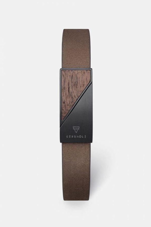 Schmuck Magnetic Strap - Walnut Tobacco von Kerbholz