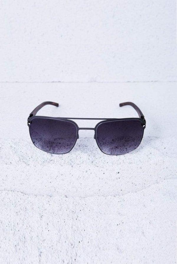 Sonnenbrille Max - Gunmetal von Kerbholz