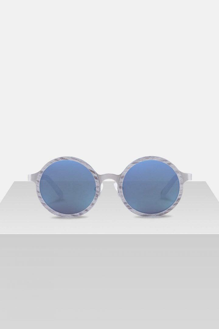 Sonnenbrille Oskar - Silverwood von Kerbholz