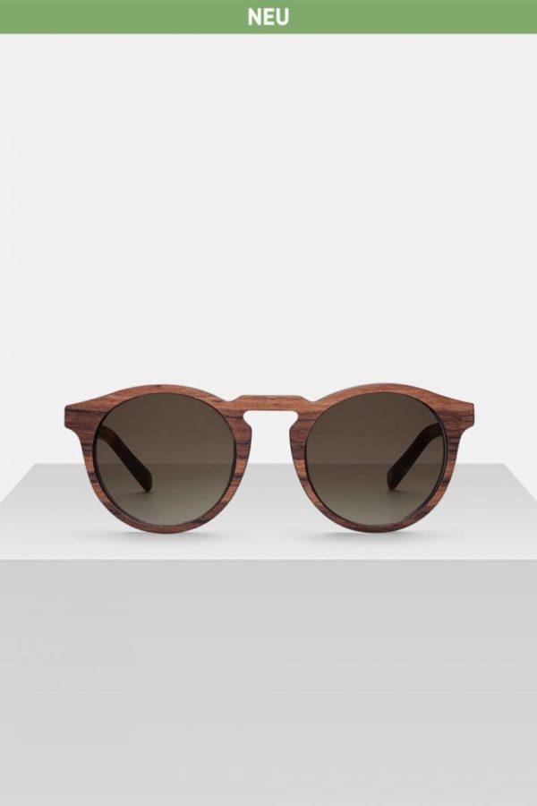 Sonnenbrille Rieke - Zebrano von Kerbholz