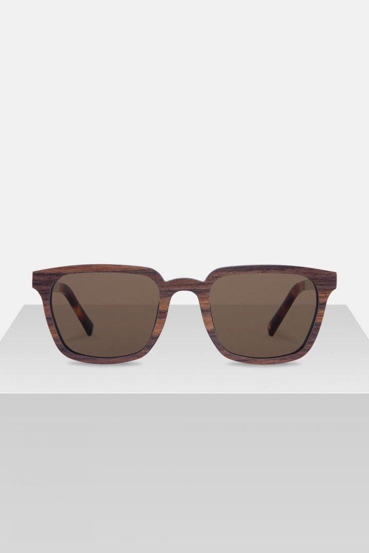 Sonnenbrille Theodor - Zebrano von Kerbholz