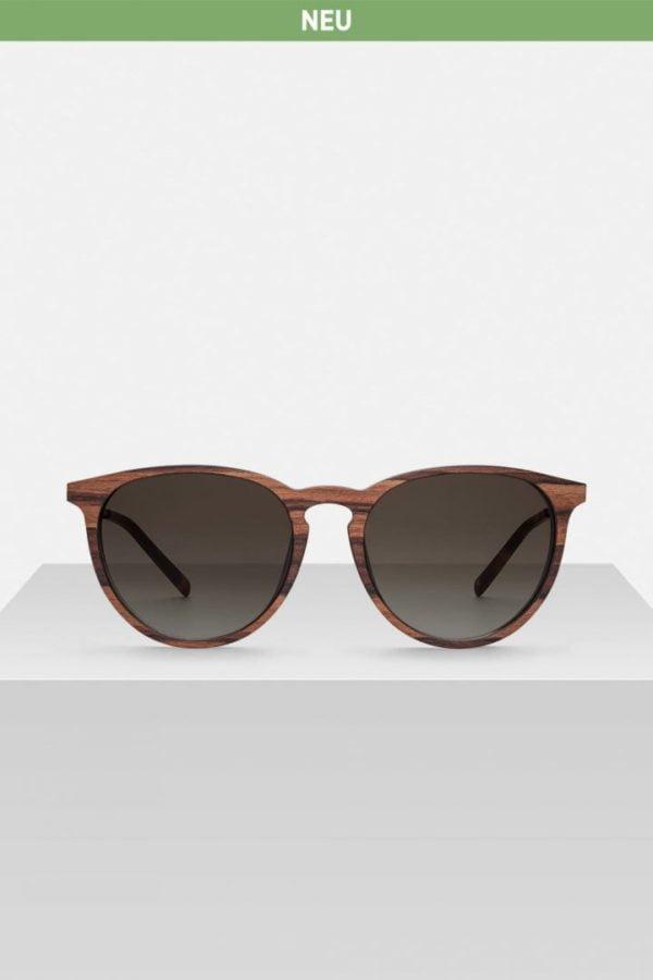 Sonnenbrille Volker - Zebrano von Kerbholz