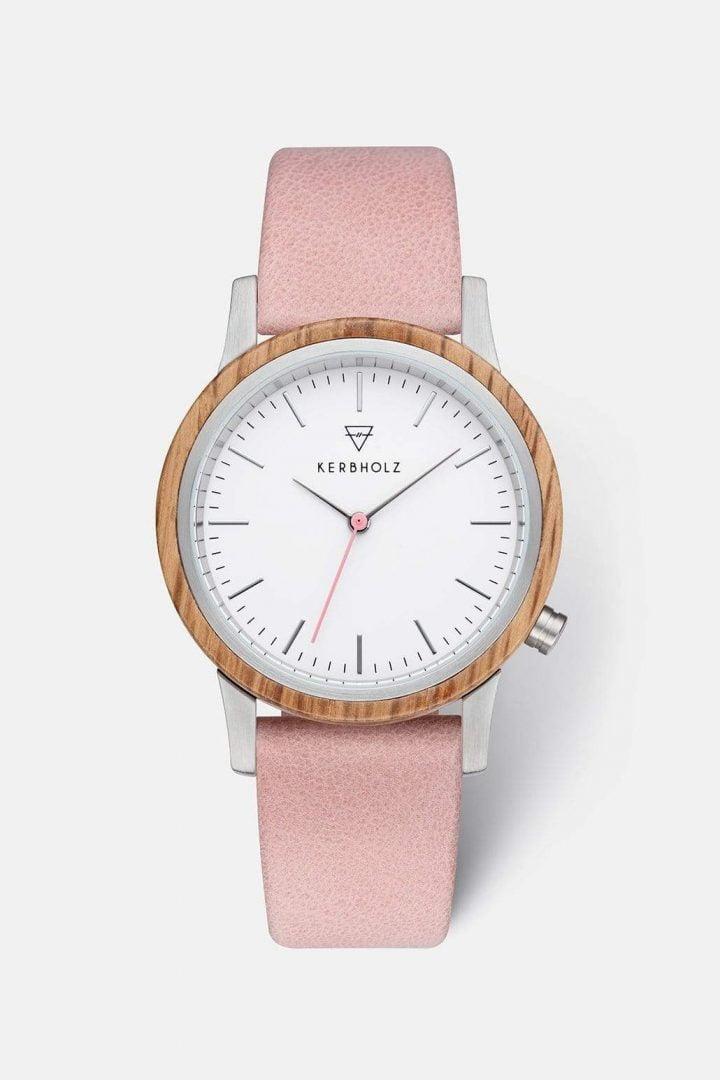 Uhr Wilma - Oak Nude von Kerbholz