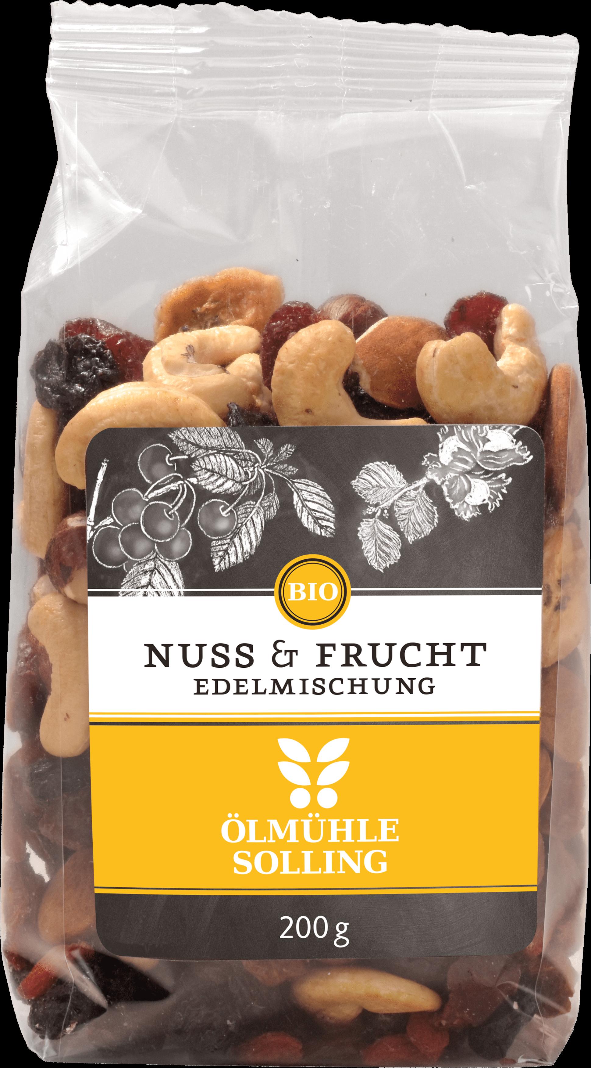 Nuss-Frucht Edelmischung 200 g von Ölmühle Solling
