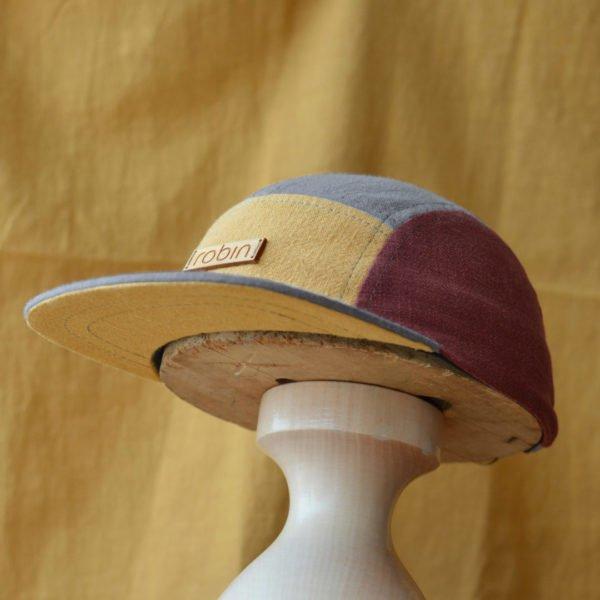 Limited Edition FRECHDACHS aus Leinen - Kindercap - 5-8 Jahre (52-55cm Kopfumfang) von Robin