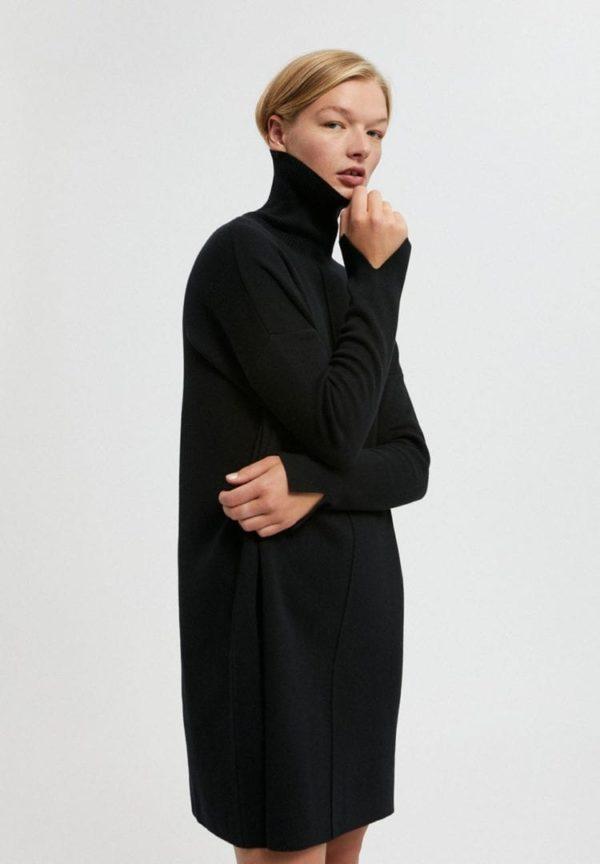 Strickkleid Siennaa In Black von ArmedAngels