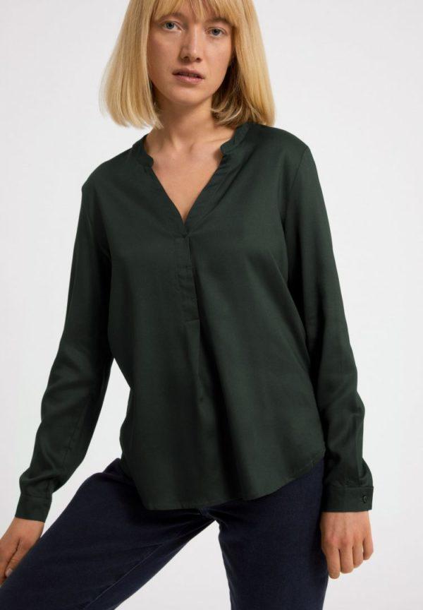 Bluse Ceylaan In Vintage Green von ArmedAngels