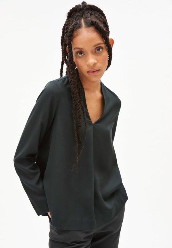 Bluse Lydiaa In Vintage Green von ArmedAngels