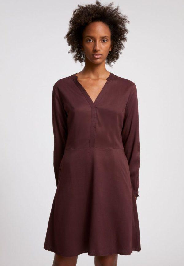 Kleid Ceylonaa In Aubergine von ArmedAngels