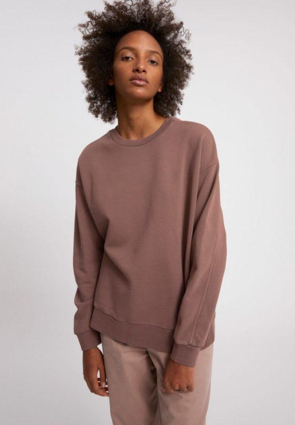 Sweatshirt Aarin Earthcolors® In Natural Dusty Rose von ArmedAngels