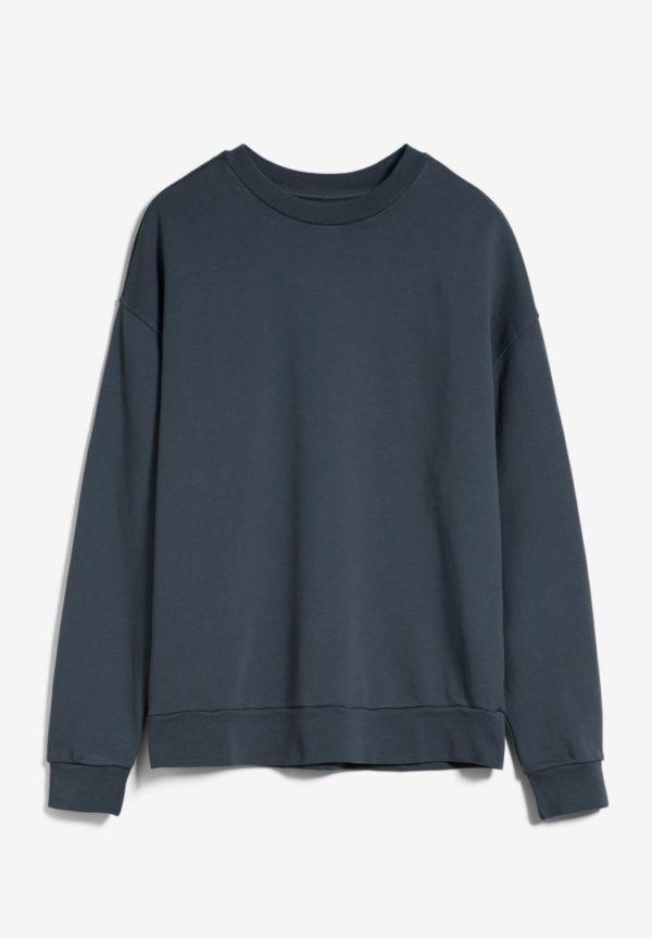 Sweatshirt Aarin Earthcolors® In Natural Indigo von ArmedAngels