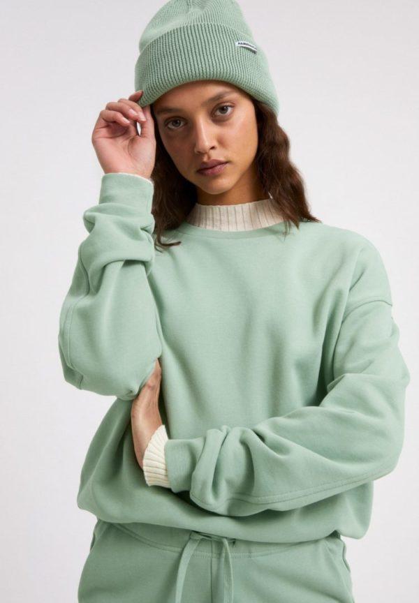 Sweatshirt Aarin In Sage Green von ArmedAngels