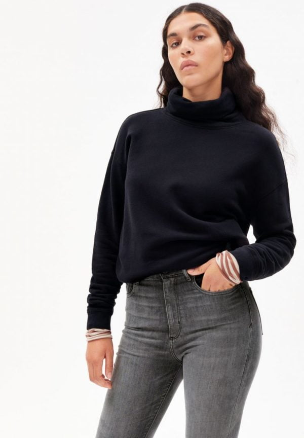 Sweatshirt Darinaa In Black von ArmedAngels