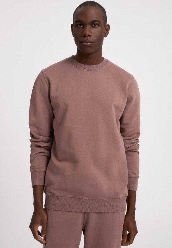 Sweatshirt Maalte Earthcolors® In Natural Dusty Rose von ArmedAngels
