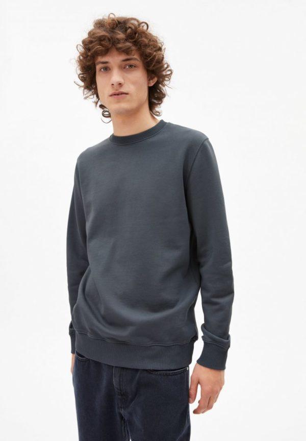 Sweatshirt Maalte Earthcolors® In Natural Indigo von ArmedAngels