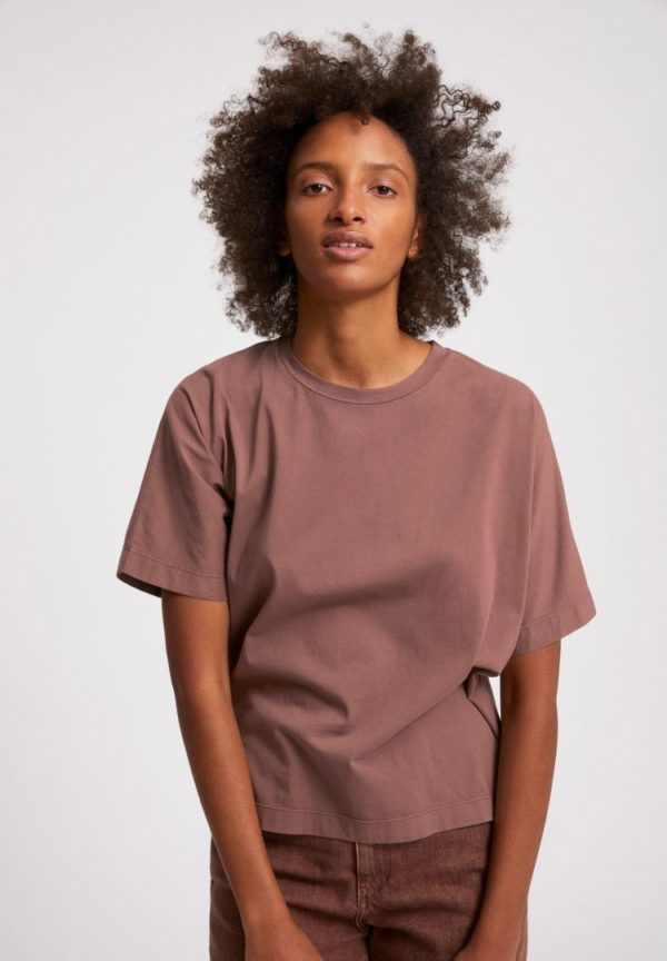 T-shirt Kajaa Earthcolors® In Natural Dusty Rose von ArmedAngels