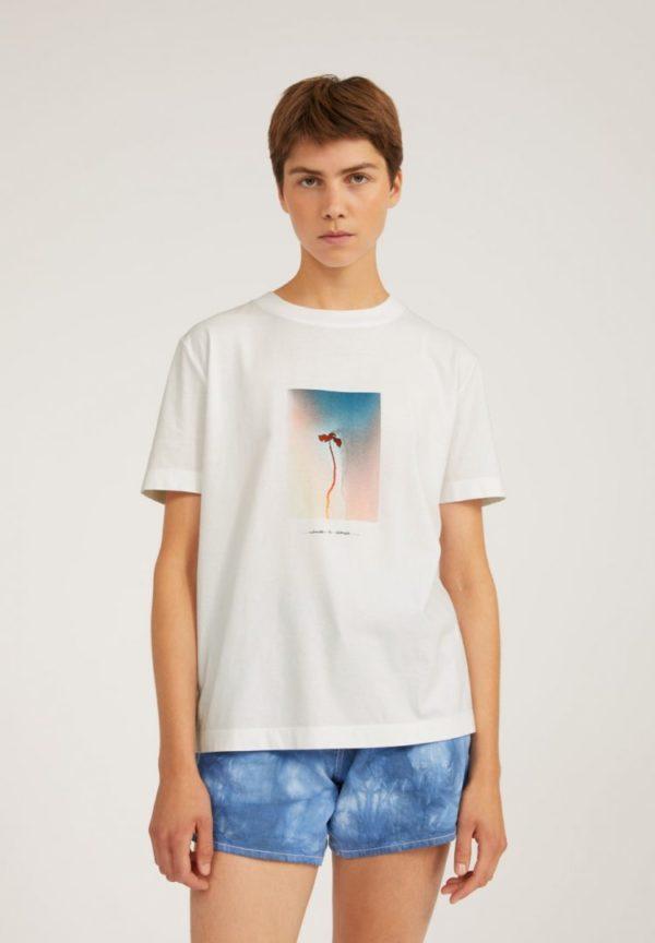 T-shirt Miaa Nature Is Change In Undyed von ArmedAngels