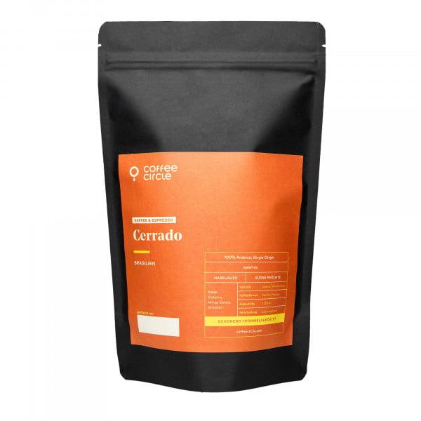 Cerrado Kaffee & Espresso 1kg ganze Bohne von Coffee Circle