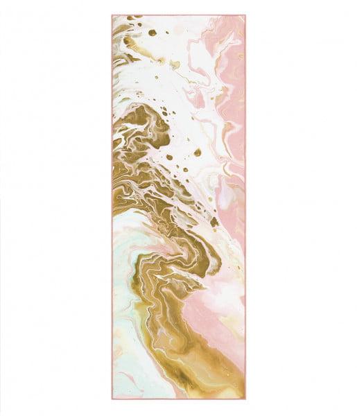 Mattentuch Yogitoes - Ocean Swell Coral von Manduka