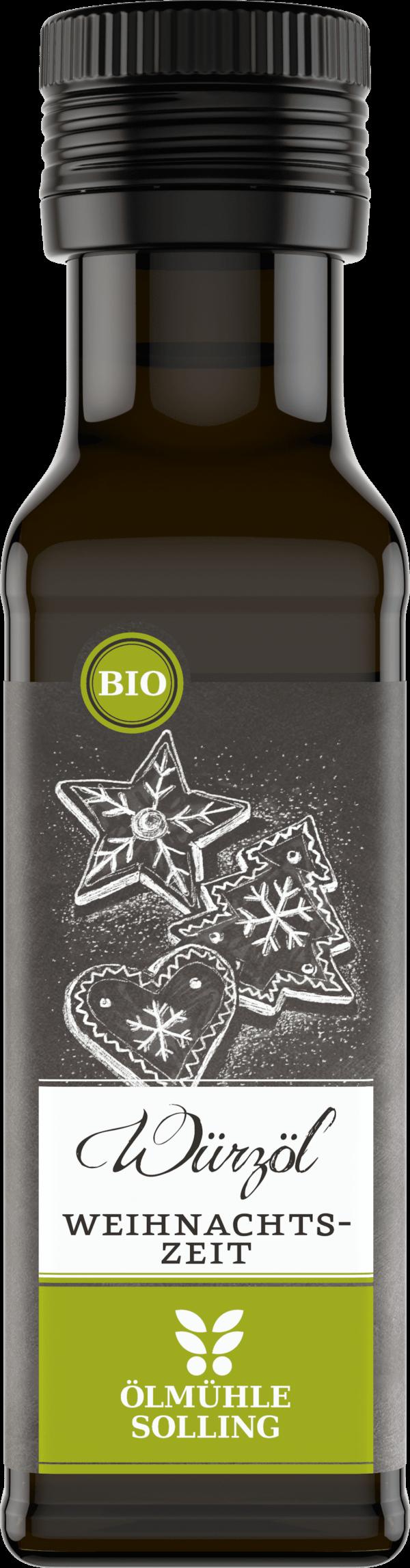 Weihnachtszeit Würzöl 100 ml von Ölmühle Solling